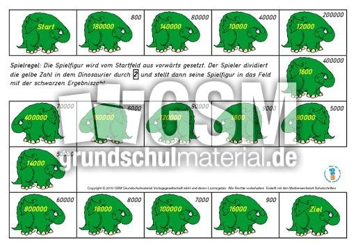 Wu00fcrfelspiele-Division Vorlagen 1 - Rechnen mit grou00dfen ...