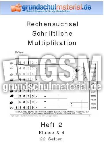 Heft 2_schriftliche Multiplikation - schriftliche Multiplikation ...