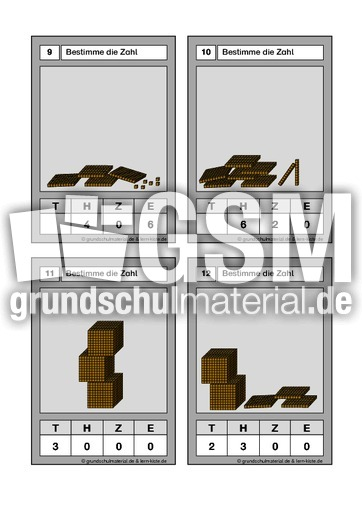 zahlen bis 10000 4 zahlen bis 10000 setzleiste mathe klasse 4. Black Bedroom Furniture Sets. Home Design Ideas