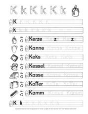 DaZ-Schreiblehrgang (Arbeitsblatt) in der Grundschule - Deutsch DaZ ...