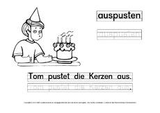 Ausmalbilder Verben-1 - DaZ-mit-Tom - Deutsch DaZ-Deutsch als ...