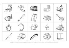 Übungen zu Anlauten komplett   ABC Anlaute und Buchstaben
