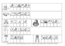 Anlautbilder In Der Grundschule Zu Anlauten Schreiben