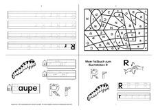 Buchstaben - Deutsch Klasse 1 - Grundschulmaterial.de