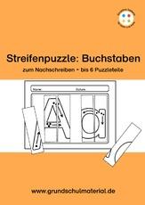 buchstabenpuzzle 1 buchstaben deutsch klasse 1. Black Bedroom Furniture Sets. Home Design Ideas