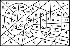 Buchstaben suchen - Grafiken - Grundschulmaterial-Fibel - Deutsch ...