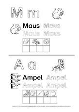 Lesen mit Großbuchstaben - Fördermaterial - Grundschulmaterial-Fibel ...