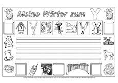 Arbeitsblatt in der Grundschule - Freies-Schreiben ...