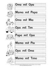 Arbeitsblatt In Der Grundschule Grundschulmaterial Fibel