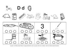 Buchstaben hören (Arbeitsblatt) in der Grundschule ...