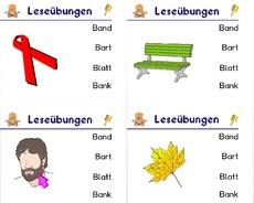 Leseübung In Der Grundschule Leseübungen Holzcomputer Deutsch