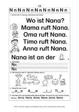 Arbeitsblatt in der Grundschule - Aufgabenblätter - Ganz einfach ...