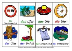 nomen wortbildkarten grundschrift nomen deutsch
