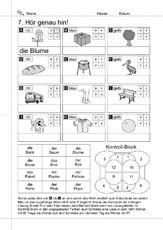 Lesen In Der Grundschule Schreiben Deutsch Klasse 1