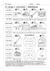 kurze und lange selbstlaute arbeitsblatt in der grundschule deutsch unterrichtsmaterial. Black Bedroom Furniture Sets. Home Design Ideas