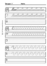 Arbeitsblatt In Der Grundschule Schreiben Lernen