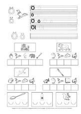 bungen zu buchstaben schreiblehrg nge deutsch klasse 1. Black Bedroom Furniture Sets. Home Design Ideas