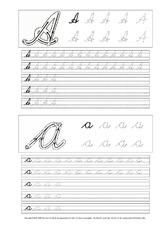 buchstaben lateinische ausgangsschrift in der grundschule einf hrungskurse schreiblehrg nge. Black Bedroom Furniture Sets. Home Design Ideas