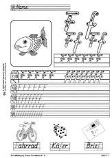 arbeitsblatt in der grundschule schreiblehrgang schreibschrift grundschrift basisschrift. Black Bedroom Furniture Sets. Home Design Ideas