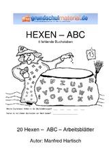 ABC - Übungen - Deutsch Klasse 2 - Grundschulmaterial.de