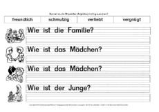 Erste Übungen - Adjektive - Deutsch Klasse 2 - Grundschulmaterial.de