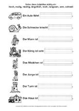 Deutsch Klasse 2 - Grundschulmaterial.de