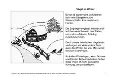 fehlerlesen tiere im winter nur text tiere im winter wintergeschichten fehlerlesen. Black Bedroom Furniture Sets. Home Design Ideas