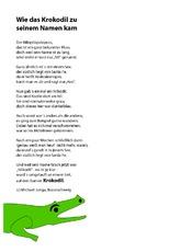 Grundschule gedichte lernen