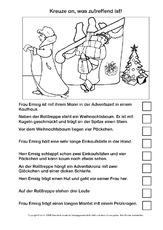 sinnerfassendes Lesen (Arbeitsblatt) in der Grundschule ...