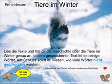 Gedichte 2 klasse winter