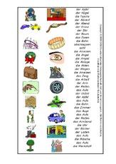 zusammengesetzte Namenwörter (Arbeitsblatt) in der Grundschule ...