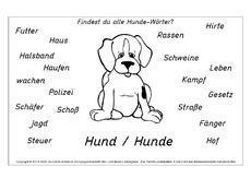 Hund in der Grundschule - Grundschulmaterial.de