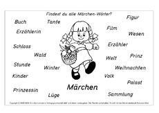 Märchen in der Grundschule - Deutsch - Unterrichtsmaterial ...