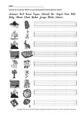 Wortarten in der Grundschule - Nomen - Deutsch Klasse 2 ...