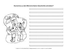 Geschichten Schreiben Arbeitsblatt In Der Grundschule