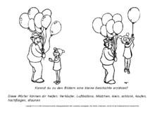 bildergeschichten schreibanl228sse deutsch klasse 2