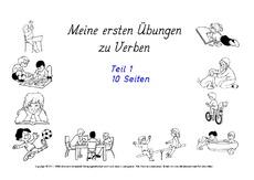 Erste Übungen zu Verben - Verben - Deutsch Klasse 2 ...