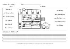 arbeitsbl tter haus wohnung werkstatt wohnen geb ude werkstatt materialien deutsch. Black Bedroom Furniture Sets. Home Design Ideas