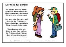 Klassische Gedichte Für Freiarbeit In Der Grundschule