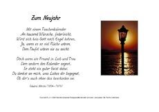 Wilhelm busch gedichte zum neuen jahr