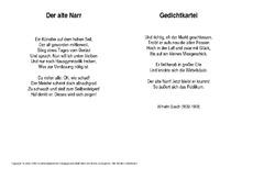 Weihnachtsgedichte Von Wilhelm Busch.Wilhelm Busch In Der Grundschule Kartei Gedichte Allgemein