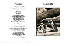 Gedicht pinguin ringelnatz