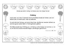 Weihnachtsgedichte Zum Abschreiben.Gedichte Richtig Abschreiben In Der Grundschule Grundschulmaterial De