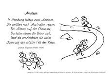 Ringelnatz gedichte ameisen