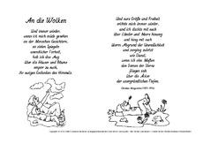 Christian morgenstern gedichte grundschule