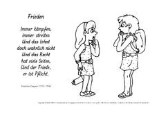 Gedicht zum frieden grundschule