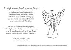 Rainer Maria Rilke Weihnachtsgedichte.Rainer Maria Rilke In Der Grundschule Ausmalbilder Werkstatt