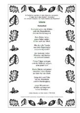 Gedicht In Der Grundschule Adjektive Herbstgedichte Werkstatt