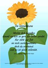 Johann Wolfgang Von Goethe In Der Grundschule Gedichte