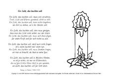 Weihnachtsgedichte Mit 3 Strophen.Unterrichtsmaterial Für Werkstattarbeit In Der Grundschule